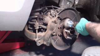 New rear discs and brake pads - Ford Mondeo Mk4 (2007 onwards)
