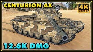 World of Tanks | Centurion Action X - 8 Kills - 12,6K Damage - 2 VS 7 Gameplay