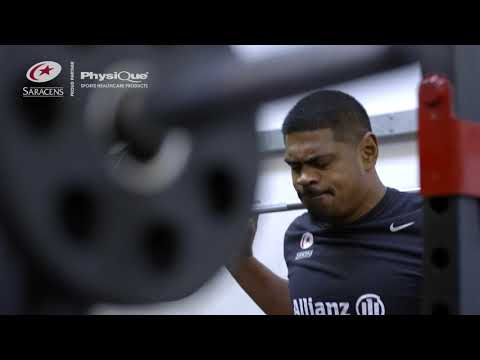 Behind the scenes at Saracens Training with Physique