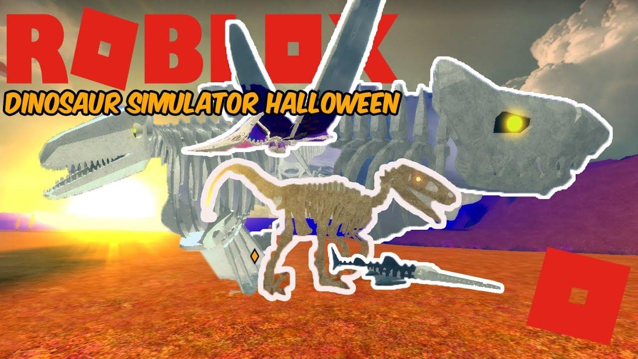 Dino Sim Halloween 2020 Roblox Dinosaur Simulator Halloween   THE UPDATE IS HERE! (ALL THE