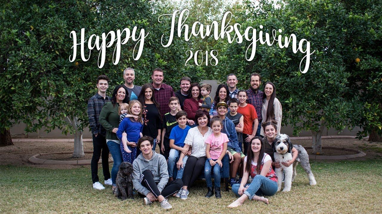 Happy Thanksgiving! - Bang Family Turkey Day 2018