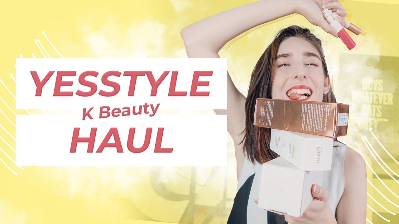 YesStyle K Beauty Haul – Maquillage et Soins K Beauty Haul