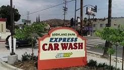 Highland Park Car Wash, Los Angeles, Ca