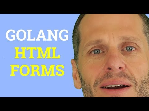 Golang Form - Gathering Data From HTML Forms