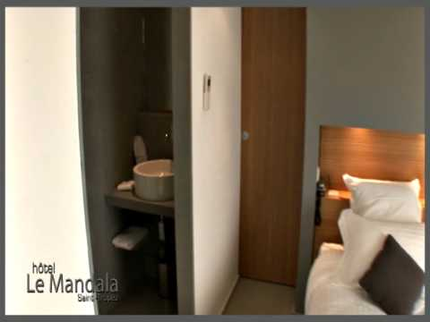 chambre privilege hotel luxe st tropez le mandala youtube. Black Bedroom Furniture Sets. Home Design Ideas