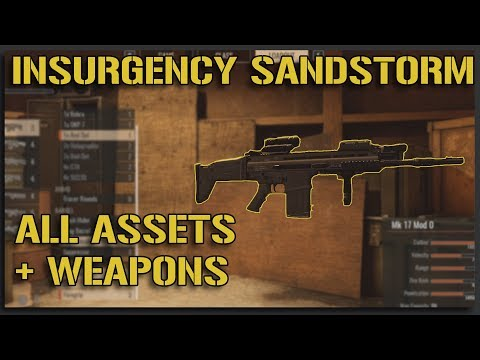 ALL Insurgency Sandstorm SECURITY ASSETS + WEAPONS - Insurgency Sandstorm Gameplay [Beta One]