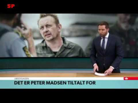 Nu er Peter Madsen tiltalt for drab