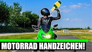MOTORRAD HANDZEICHEN DIE LEBEN RETTEN❗