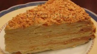 "Торт ""Наполеон"" с пломбиром"