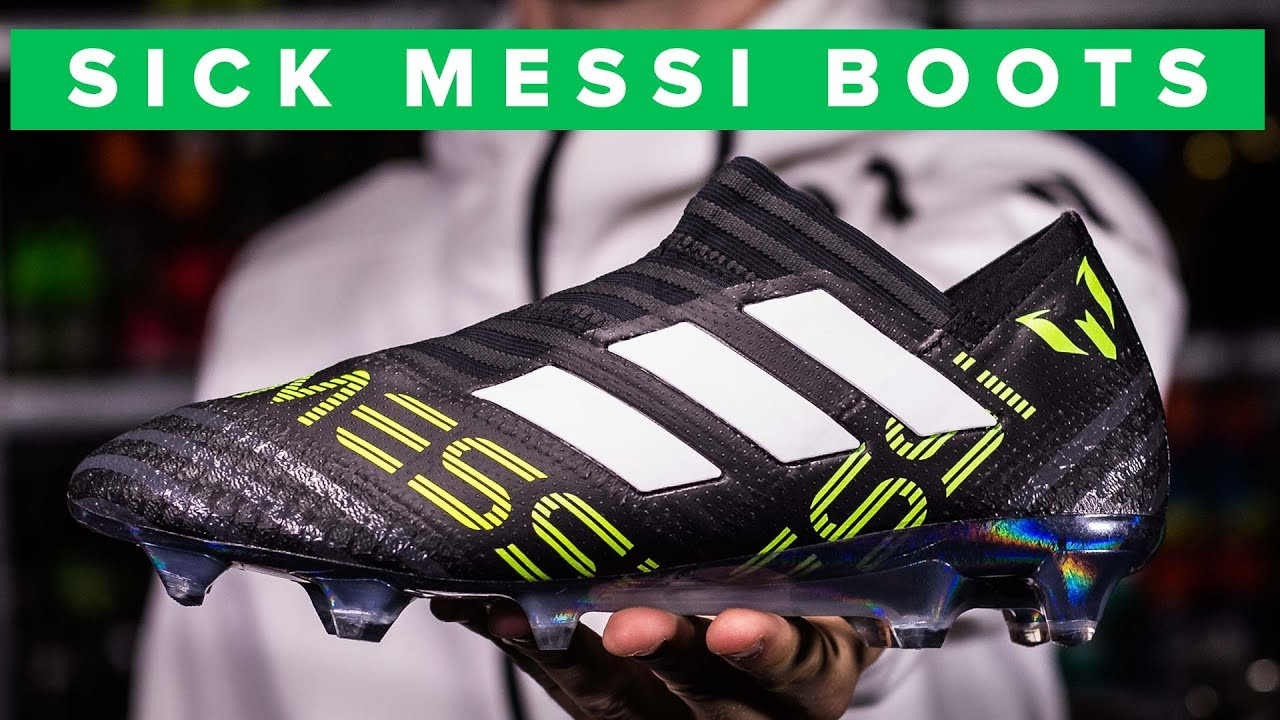 2336e4272385 NEW SICK MESSI BOOTS | adidas Nemeziz 17+ 360Agility - YouTube