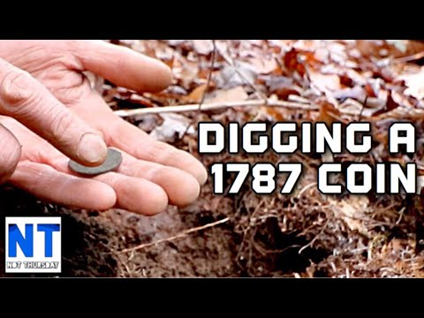 4th Time Back & He Finds A 1787 CT Copper State Coin Metal Detecting In NH