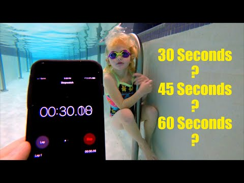 How Long Can You Hold Your Breath Underwater