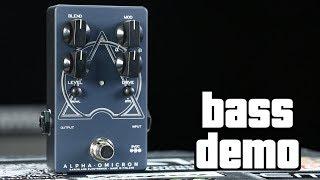 Darkglass Alpha Omicron Bass Demo