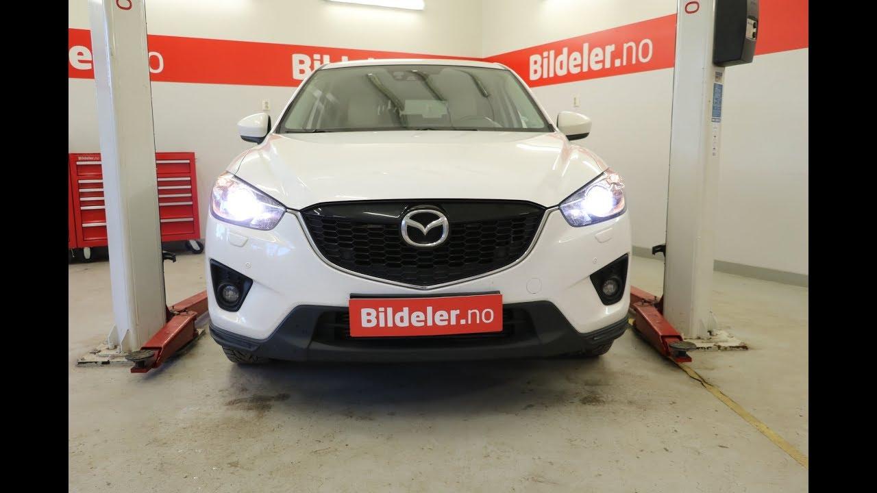 Mazda Cx 5 Hvordan Bytte Dieselfilter 2012 Til 2017 Mod Ke Youtube