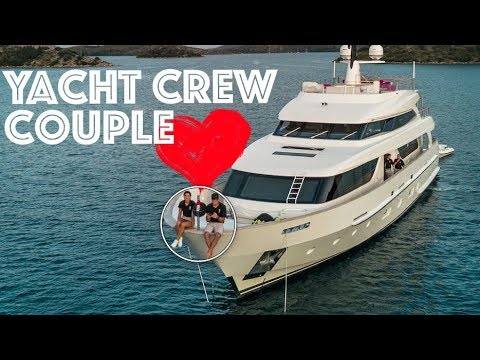 A Super Yacht Crew Couple - Q&A - What's it like?