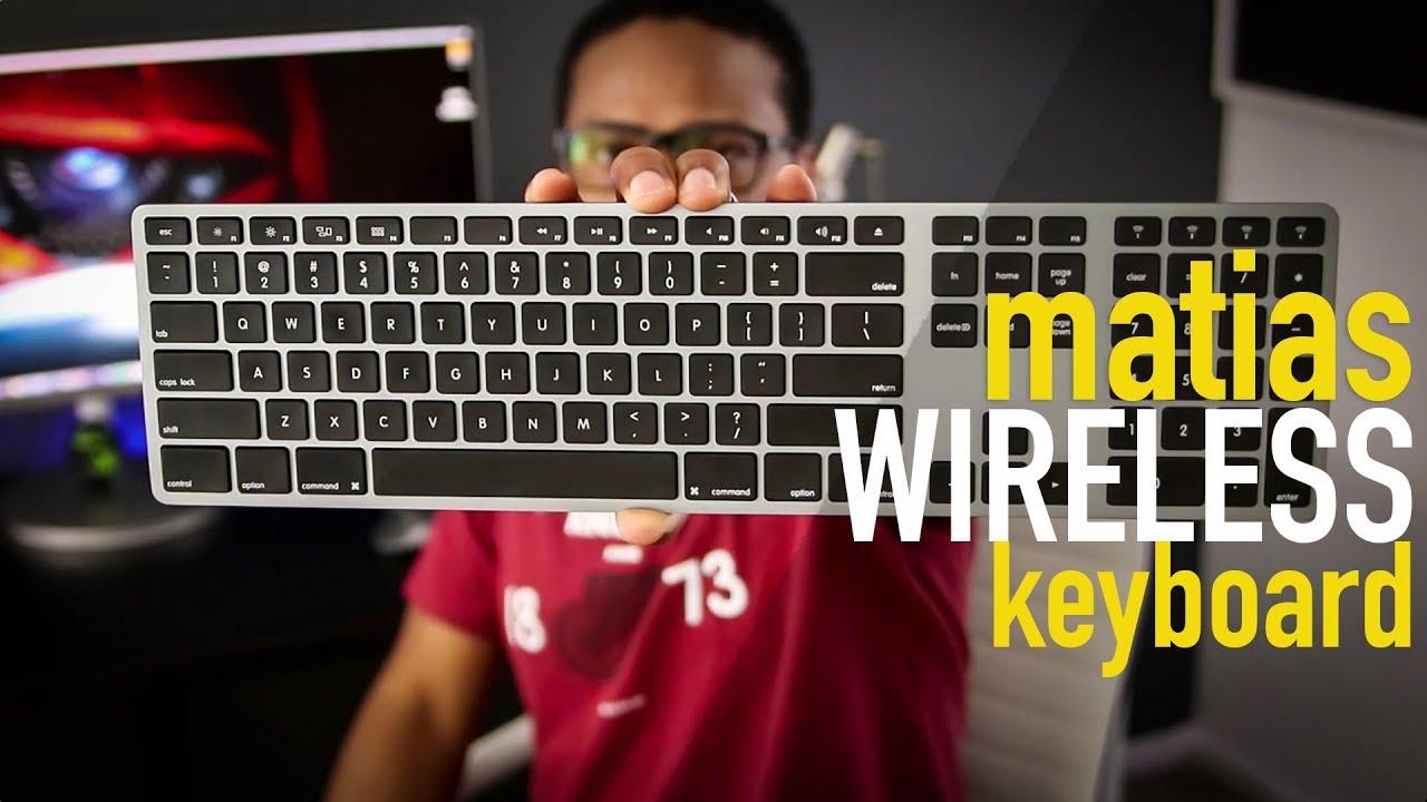 af7b5624d64 Matias Wireless Aluminum Keyboard | Quick Review - YouTube