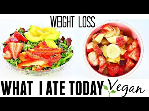What I Eat In a Day Vegan Style |  Healthy Vegan Meal Ideas