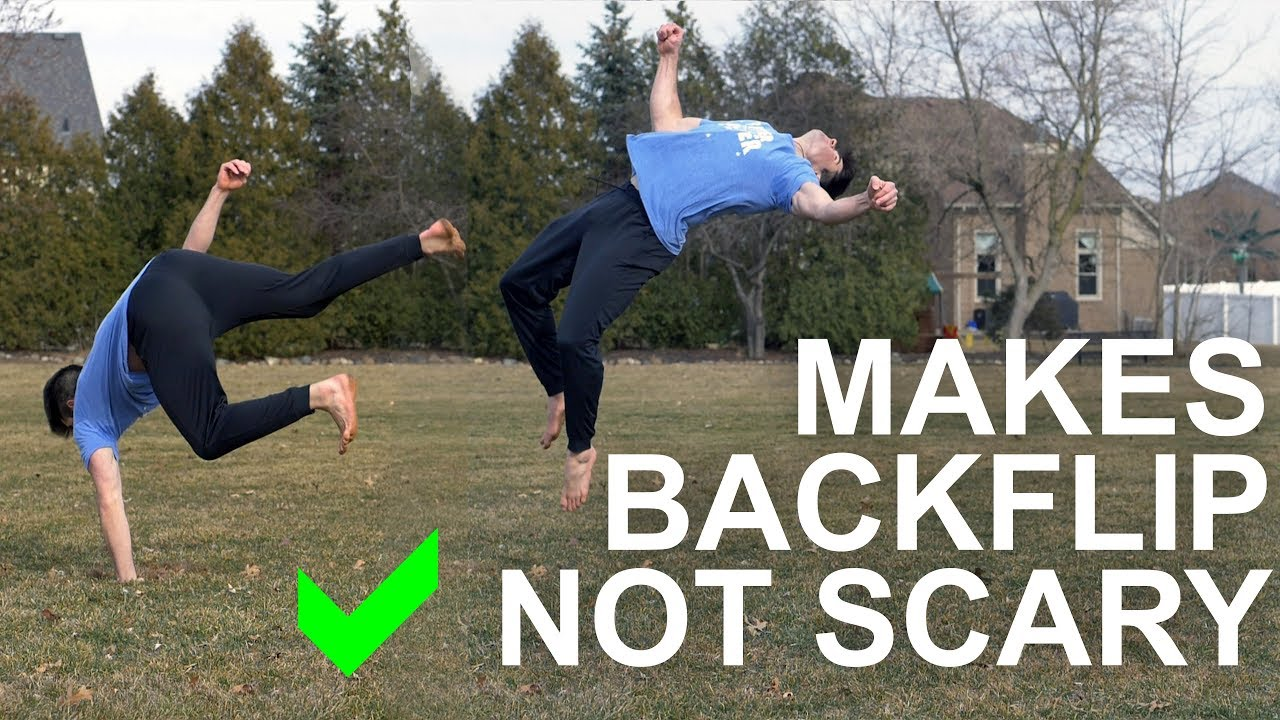 3 Easy Steps to Do a Back Flip - YouTube