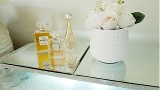 LIGHT UP VANITY NIGHT LIGHT TRAY | BLING AND GLAM DIY | HIGH-END LUXURY DISPLAY TRAY | EASY DIY 2019