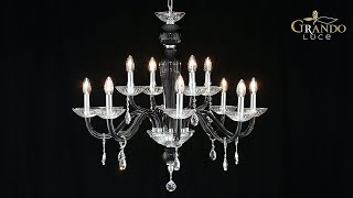 Leonie Collection Crystal Chandeliers - GrandoLuce Video