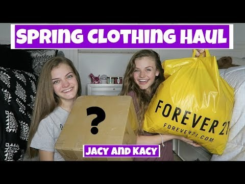 Spring Clothing Try On Haul Under $10 ~ Jacy and Kacy