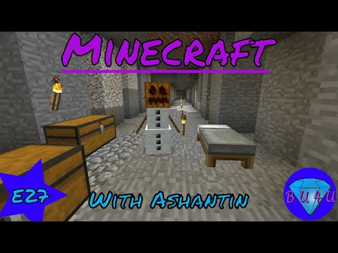 Ashantin teaches BU4U how to play vanilla Minecraft | E27 | Mining fun & chat