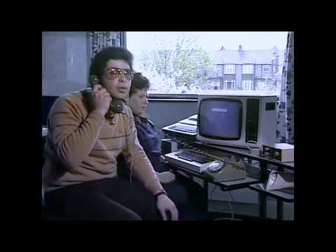 British Thames TV Show about sending an Email in 1984