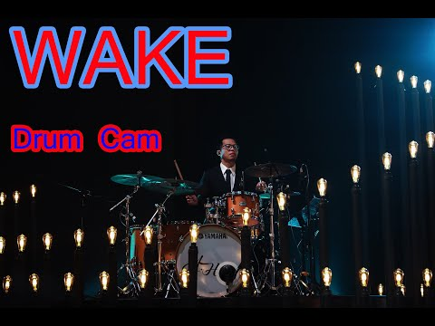 WAKE - Hillsong Young and Free - Drum Cam - Insta360 One X