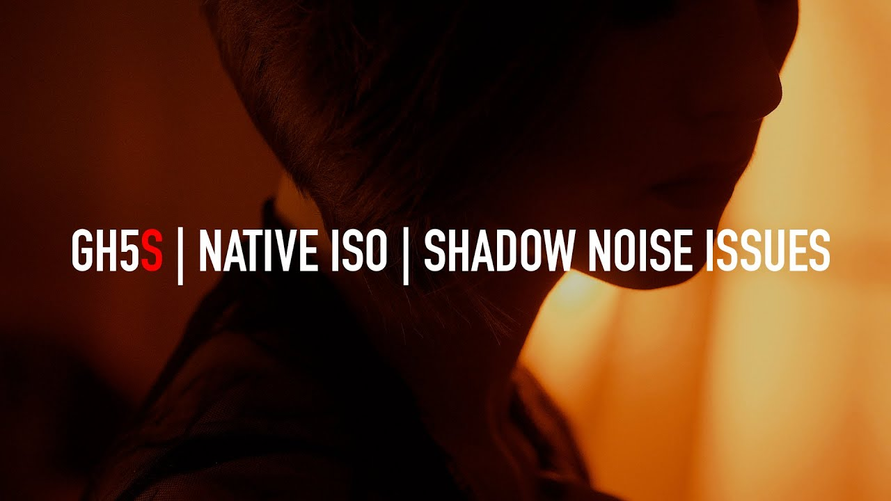 Panasonic GH5s - Shadow detail and noise issues at native ISO