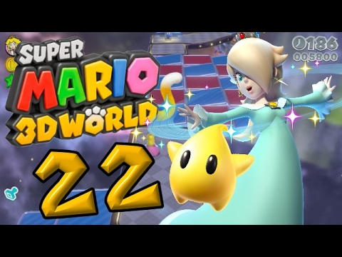 Super Mario 3D World Part 22: Rosalina ist mit am Start?!