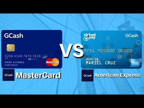 Gcash Tutorial #2: (2018) Gcash Mastercard VS Gcash American Express Virtual Card, How It Works?