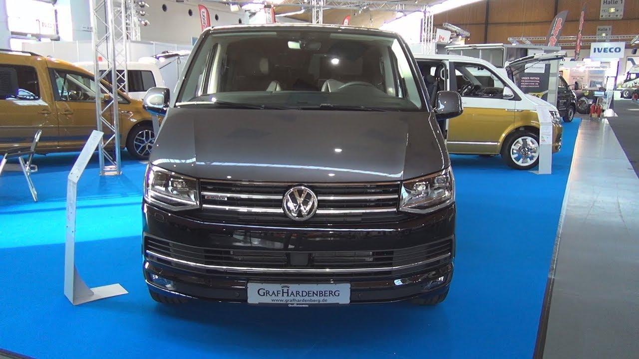 Volkswagen Transporter T6 Bulli Multivan Highline 2 0 Tdi 7 Dsg 2018 Exterior And Interior