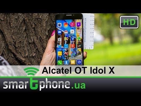 Alcatel One Touch Idol X - Обзор тонкого смартфона с Full HD дисплеем