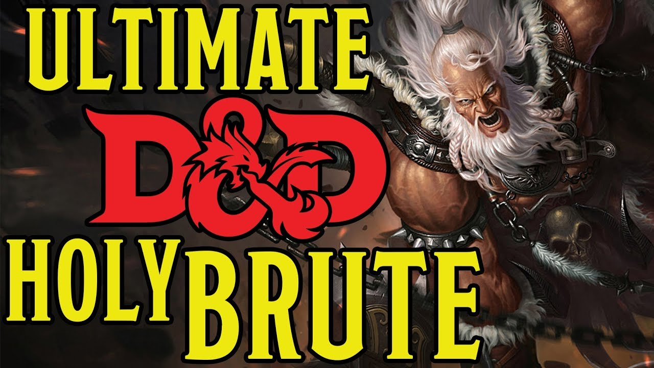 Ultimate Fighter Brute Build - Dungeons and Dragons 5e