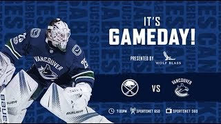 NHL 19 PS4. REGULAR SEASON 2018-2019: Buffalo SABRES VS Vancouver CANUCKS. 01.18.2019. (NBCSN) !
