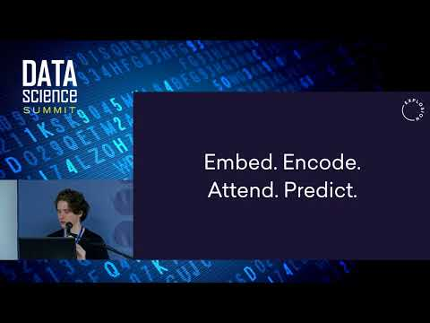 Embed, encode, attend, predict -  Dr. Matthew Honnibal
