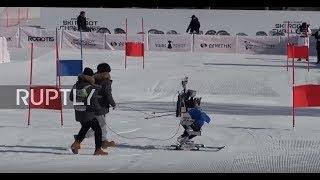 إقامة مسابقة تزلج للروبوتات في دورة الألعاب الأولمبية الشتوية | نجوم إف إم