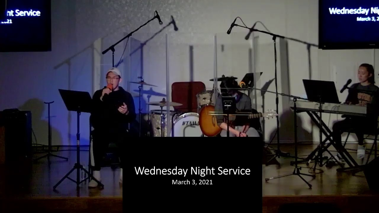 Wednesday Worship 03/3/2021