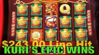 ★EPIC WINS ONLY !★ KURI Slot's Big Wins Paradise Part 10★☆8 of Slot machines Big wins☆ /Must see it