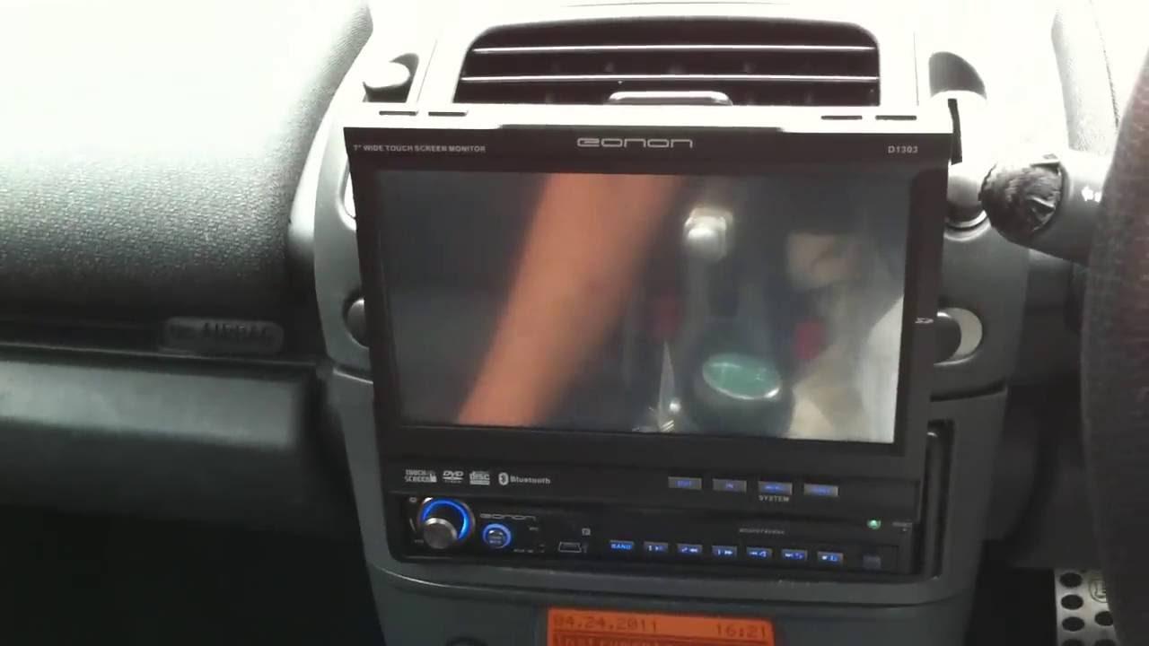Smart Roadster With Eonon G1301e Dvd Player Head Unit