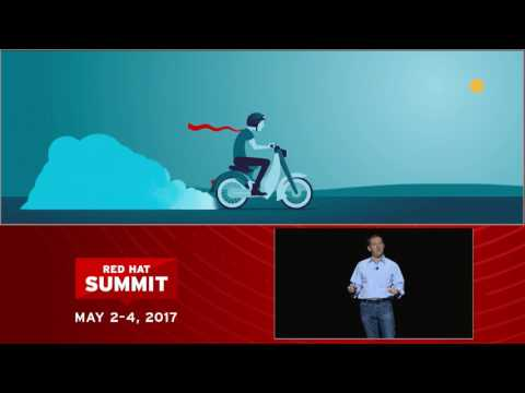 Jim Whitehurst at Red Hat Summit 2017: Impact of the individual
