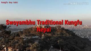 Nepal kung-fu training