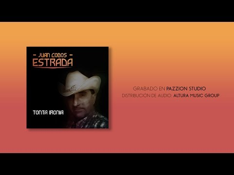 Juan Cobos Estrada - Tonta Ironia (Pazzion Studio)