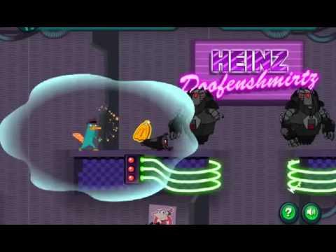 Flashok ru: Видео обзор игры Agent P Strikes Back Перри утконос наносит ответный удар