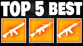 The Division 2 - TOP 5 BEST HIGH END WEAPONS IN WT5 !!