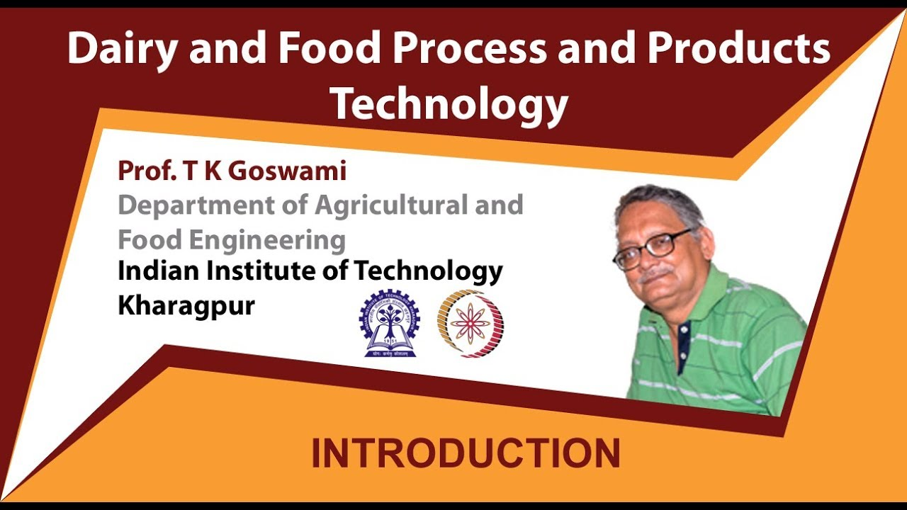 Dairy and Food process and products technology - Course