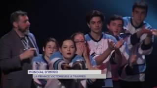 Mondial d'improvisation : la France l'emporte à Trappes