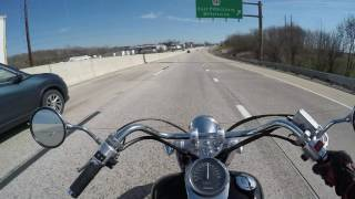 Honda shadow 750 Big enough for a man?(highway):srkcycles.com