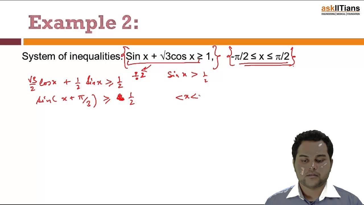 Trigonometric Inequalities & Examples  Mathematics   Class 11   IIT JEE  Main + Advanced   askIITians