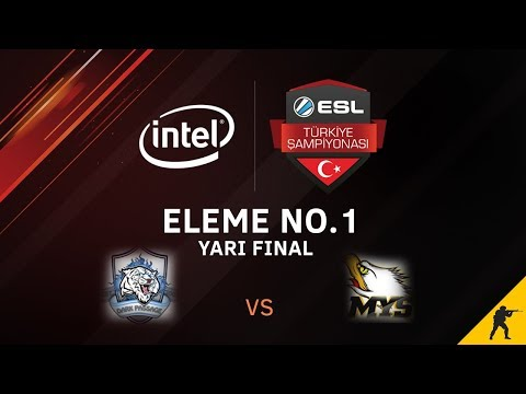 CS:GO - Dark Passage vs. MYSTERIEUX I BO1 - Intel ESL Türkiye Şampiyonası 1. Hafta Elemeleri